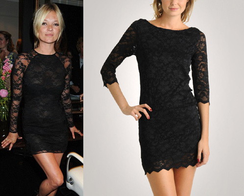 Black Long Dress on Attire Are Lace Sleeves  One Shoulder And Long Sleeve Mini Dresses